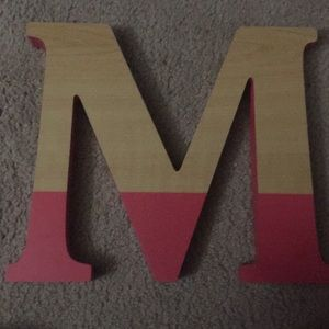 Other - A wood M